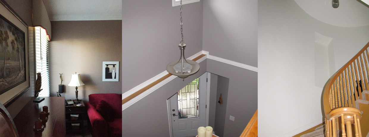 Barrhaven Living Dining Room Painted