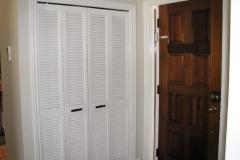 Front Hall Closet Painted Kanata