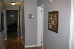 Barrhaven House Painters - Downstair Hall Painted
