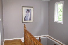 Barrhaven House Painters - Upstairs Hall Painted