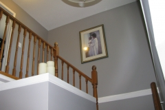 Barrhaven House Painters - up the Stairs Painted