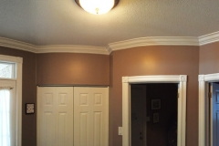 Kanata House Painters Ottawa House Painting Foyer Crown Moulding