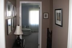 Kanata House Painters Ottawa House Painting Hallway