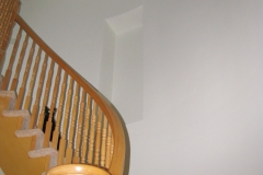 House Painters Ottawa Curved Stairs Staircase