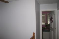 Kanata house painting upstairs hallway