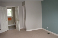 Stittsville House Painters Master Bedroom Accent Wall