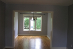 Stittsville House Painters Living and Dining Room Painted