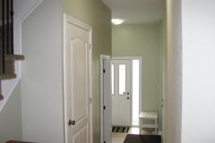 Kanata home painters hallway