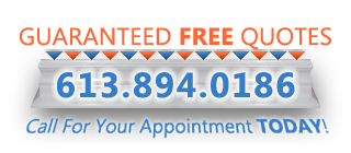 Guaranteed FREE Quotes from Ottawa House Painting 613 894 0186
